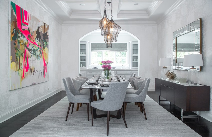 Summer Trends: Accessories That Will Freshen Up You Dining Area summer trends Summer Trends: Accessories That Will Freshen Up Your Dining Area Artwork Dining Room