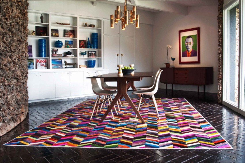summer trends Summer Trends: Accessories That Will Freshen Up Your Dining Area Dining Room Rug