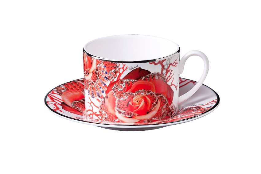 Roberto Cavalli Discover Roberto Cavalli Rose Jewel Tableware Collection Discover Roberto Cavalli Tableware for your Luxury Dining Table 6