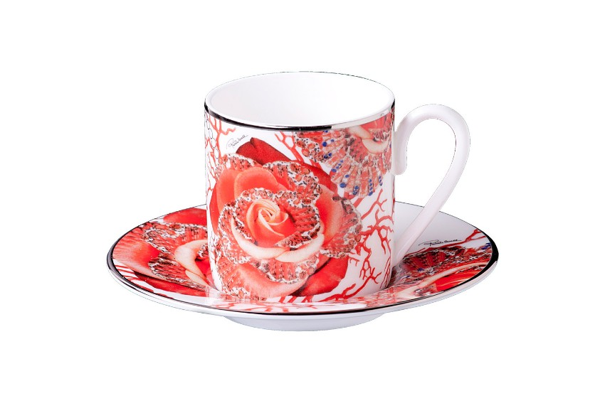 Roberto Cavalli Discover Roberto Cavalli Rose Jewel Tableware Collection Discover Roberto Cavalli Tableware for your Luxury Dining Table 7