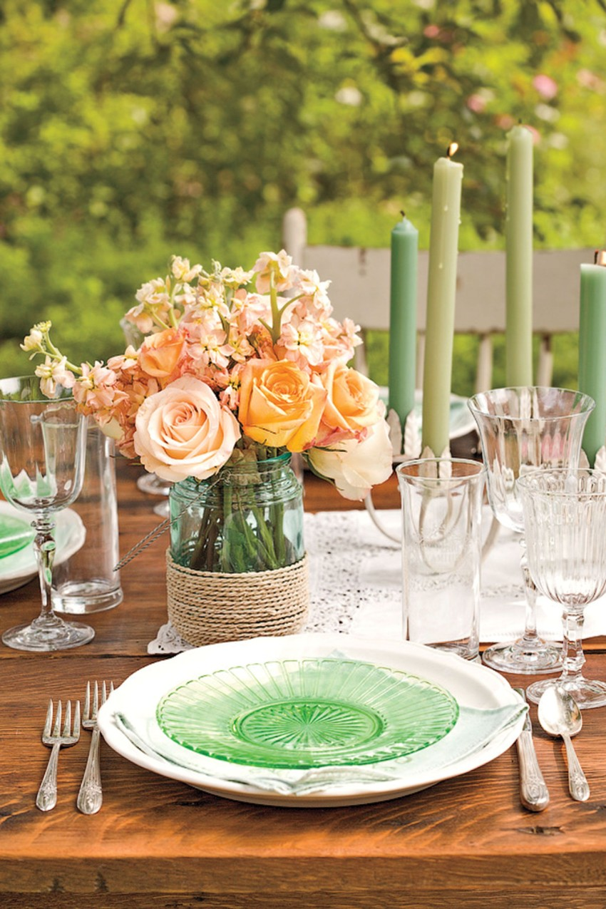 summer trends Summer Trends: Accessories That Will Freshen Up Your Dining Area Flowers Centerpiece