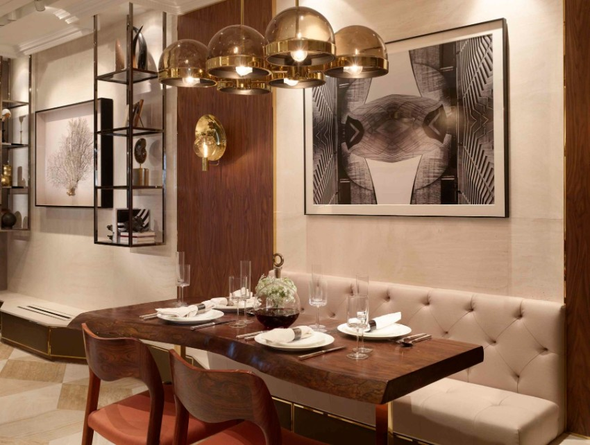 joyce wang Stunning Dining Area Designs by Joyce Wang Seymor Road Residence