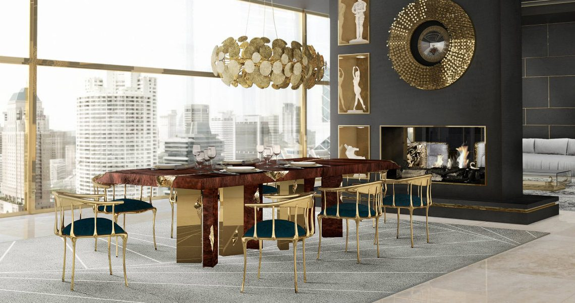 The perfect Lighting Pieces for Your Luxury Dining Room