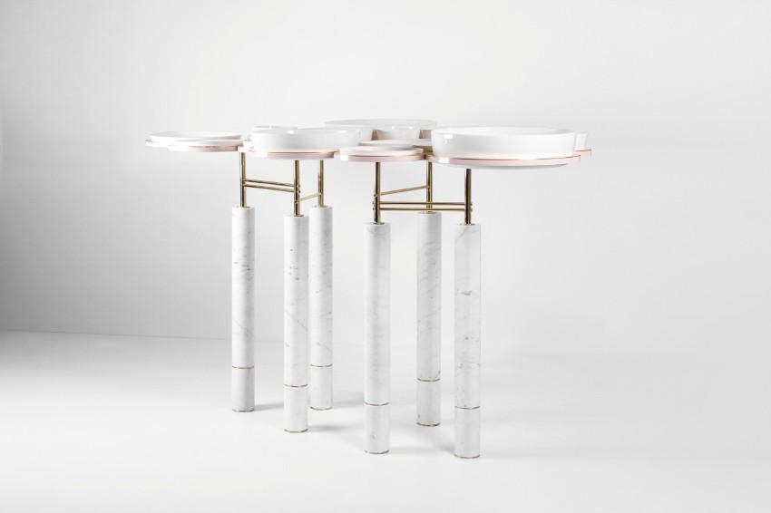 Sayargaribeh Bring a Futuristic twist on a Dining Table