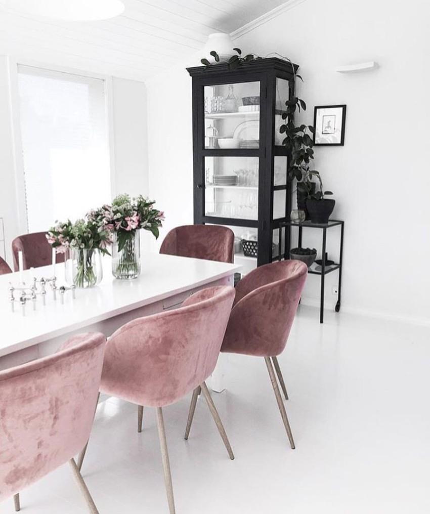 velvet dining chairs Velvet Dining Chairs Are The Key to Sophistication 11 Velvet Dining Chairs Are The Key to Sophistication