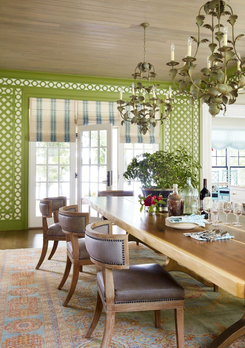 dining rooms Warm Up the House With These Colorful Dining Rooms 11 Warm Up the House With This Colorful Dining Rooms Fotor