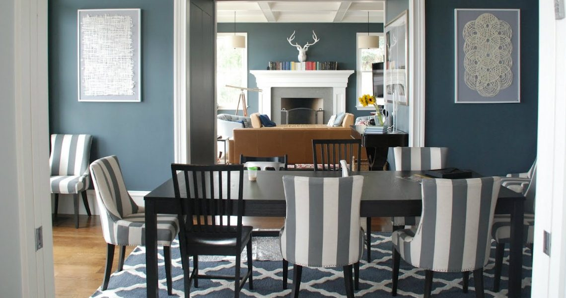 Warm Up the House With These Colorful Dining Rooms