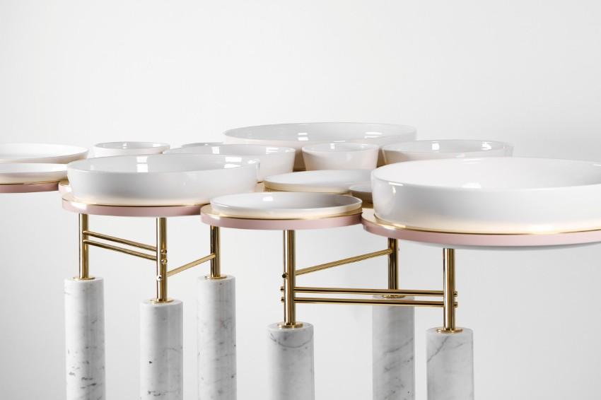 dining table Sayargaribeh Bring a Futuristic Twist on a Dining Table 2 SayarGaribeh Bring a Futuristic twist on a Dining Table