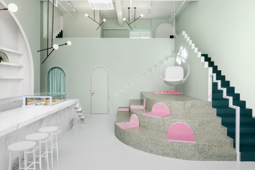 The Exclusive Design of a Cafe Inspired By The Gran Budapest Hotel Movie
