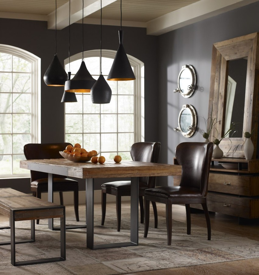dining area Dark Walls That Add Coziness to Any Dining Area 5 Dark Walls That Add Coziness to Any Dining Area