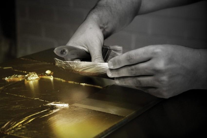Leaf Gilding: An Ancient Art Behind Boca do Lobo's Luxury Furniture