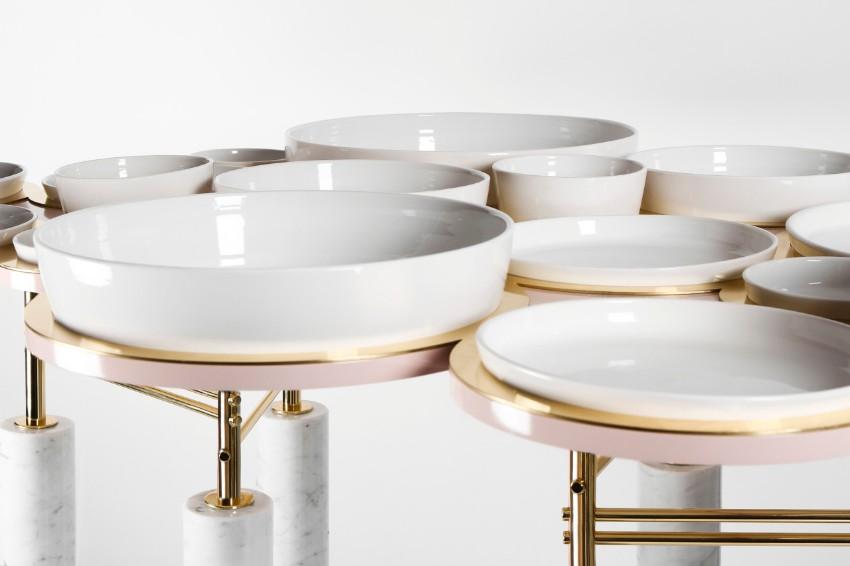 dining table Sayargaribeh Bring a Futuristic Twist on a Dining Table 6 SayarGaribeh Bring a Futuristic twist on a Dining Table