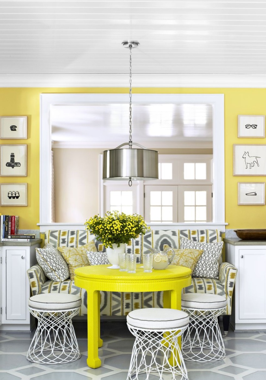 Warm Up the House With This Colorful Dining Rooms dining rooms Warm Up the House With These Colorful Dining Rooms 6 Warm Up the House With This Colorful Dining Rooms Fotor
