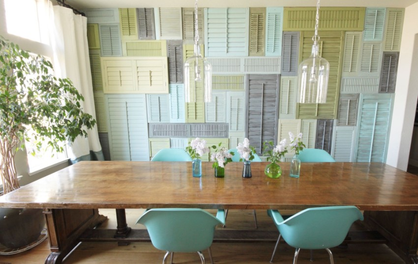 dining room Patterned Walls to Get a Tropical Touch to Your Dining Room 7 Patterned Walls to Get a Tropical Touch to Your Dining Room Fotor