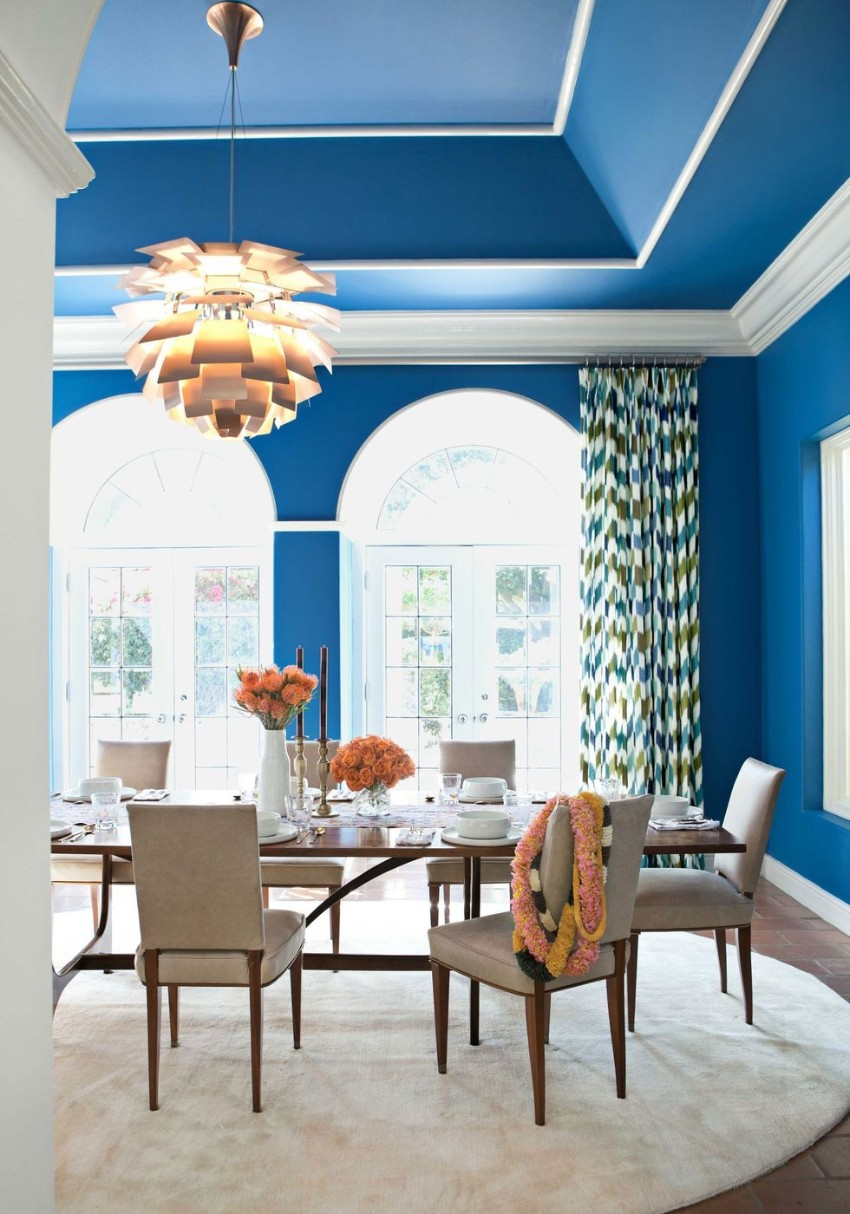 Warm Up the House With This Colorful Dining Rooms dining rooms Warm Up the House With These Colorful Dining Rooms 7 Warm Up the House With This Colorful Dining Rooms Fotor