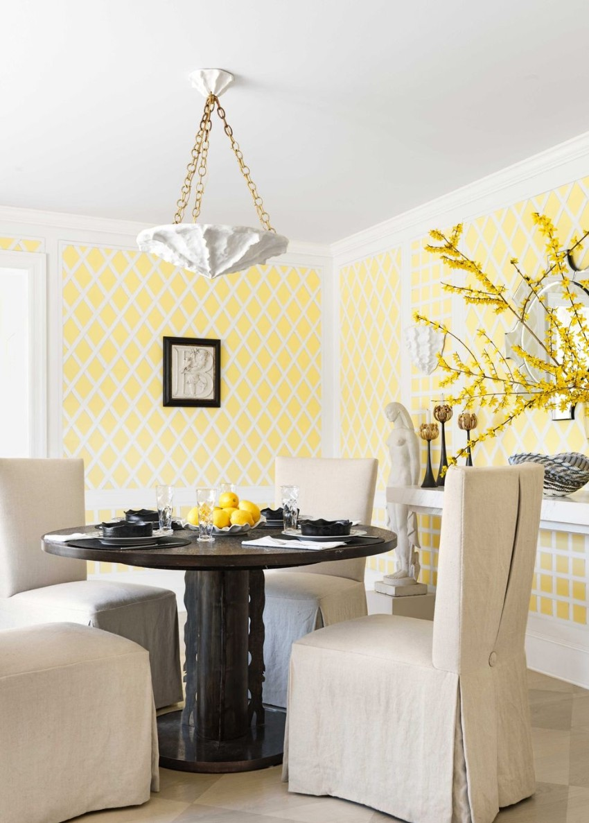 Warm Up the House With This Colorful Dining Rooms dining rooms Warm Up the House With These Colorful Dining Rooms 8 Warm Up the House With This Colorful Dining Rooms Fotor