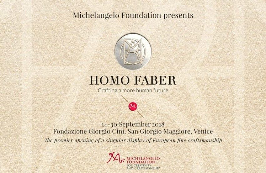 Homo Faber – European Craftsmanship Celebration