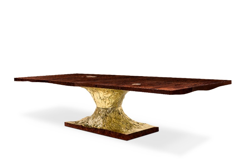 gold dining tables Gold Dining Tables To Bring Glory to Your Dining Room metamorphosis dining table 02 hr 1