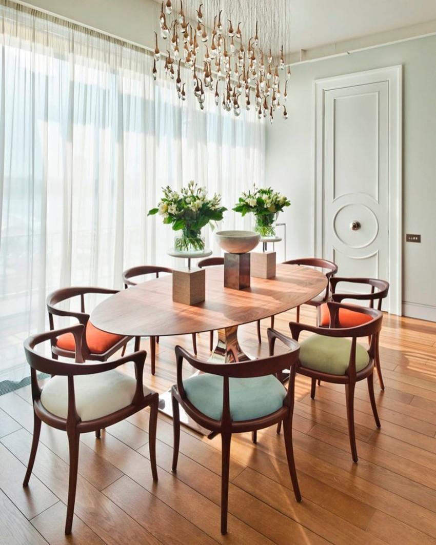 dining decor Luxury Dining Decor By Oleg Klodt Architecture & Design Luxury Dining Decor By Oleg Klodt Architecture Design 6