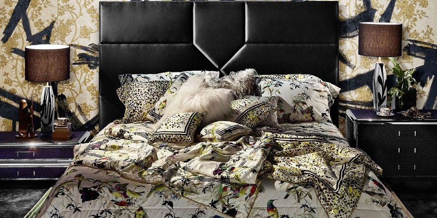 maison et objet The Most Exclusive Brands Present at Maison et Objet 6 Roberto Cavalli Home Linen