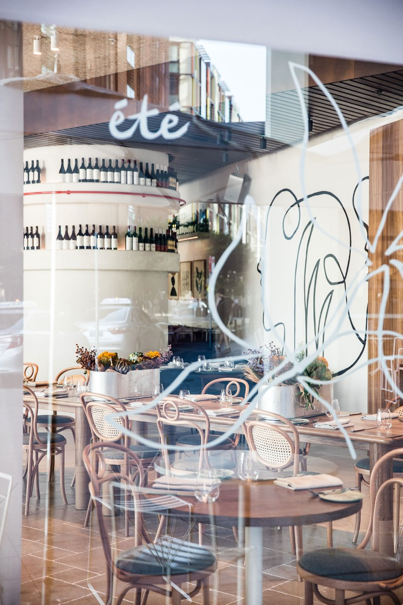contemporary contemporary Traditional Meets Contemporary in Été Restaurant Australian Restaurant Fuses Two Cultures