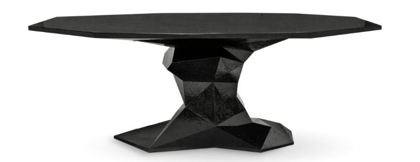 dining table Luxury Dining Rooms: Discover the Bonsai Dining Table bonsai black boca do lobo 01 1