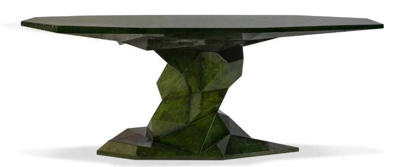 dining table Luxury Dining Rooms: Discover the Bonsai Dining Table bonsai green bocadolobo 1