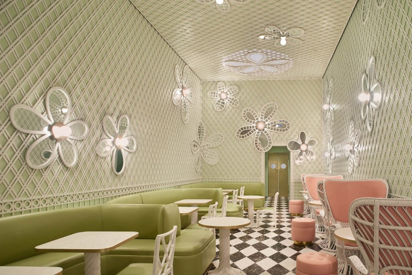 india mahdavi Best Bars and Restaurants India Mahdavi laduree losangeles