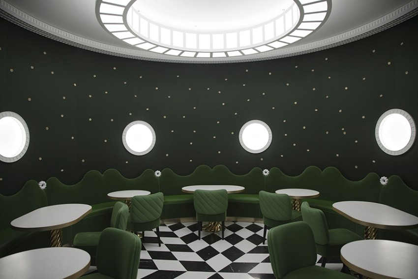 india mahdavi Best Bars and Restaurants India Mahdavi laduree quaidesbergues