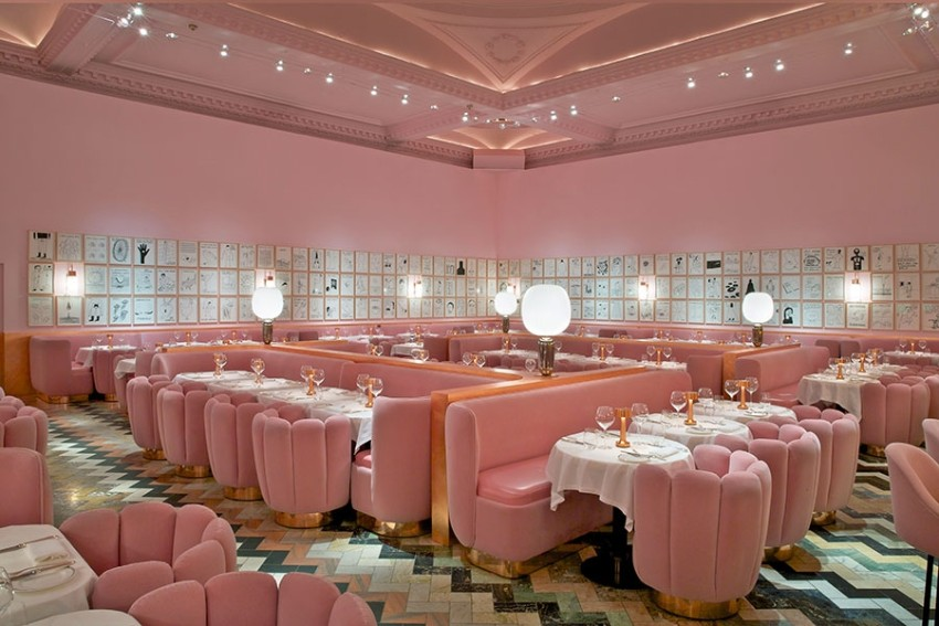 india mahdavi Best Bars and Restaurants India Mahdavi the gallery at sketch