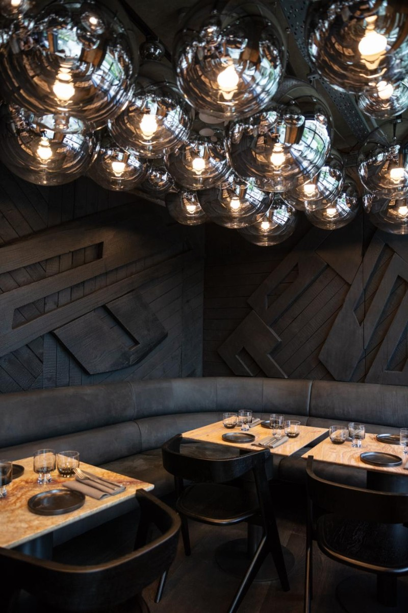 Take A Bite Out Of 24 Modern Dining Rooms: Coal Office Restaurant, London's New Star Dining Area