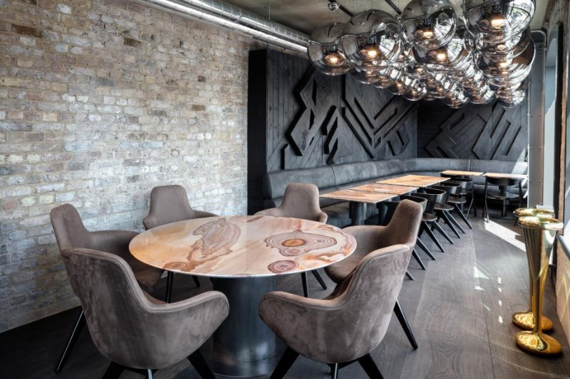 dining area Coal Office Restaurant, London's New Star Dining Area Coal Office Restaurant 7