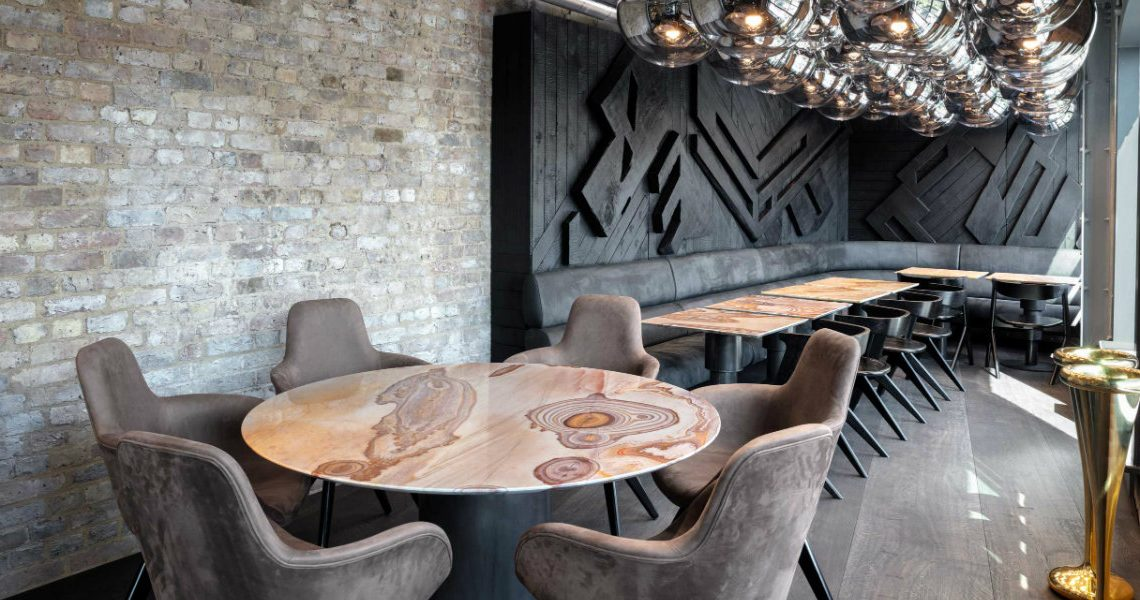 Coal Office Restaurant, London's New Star Dining Area