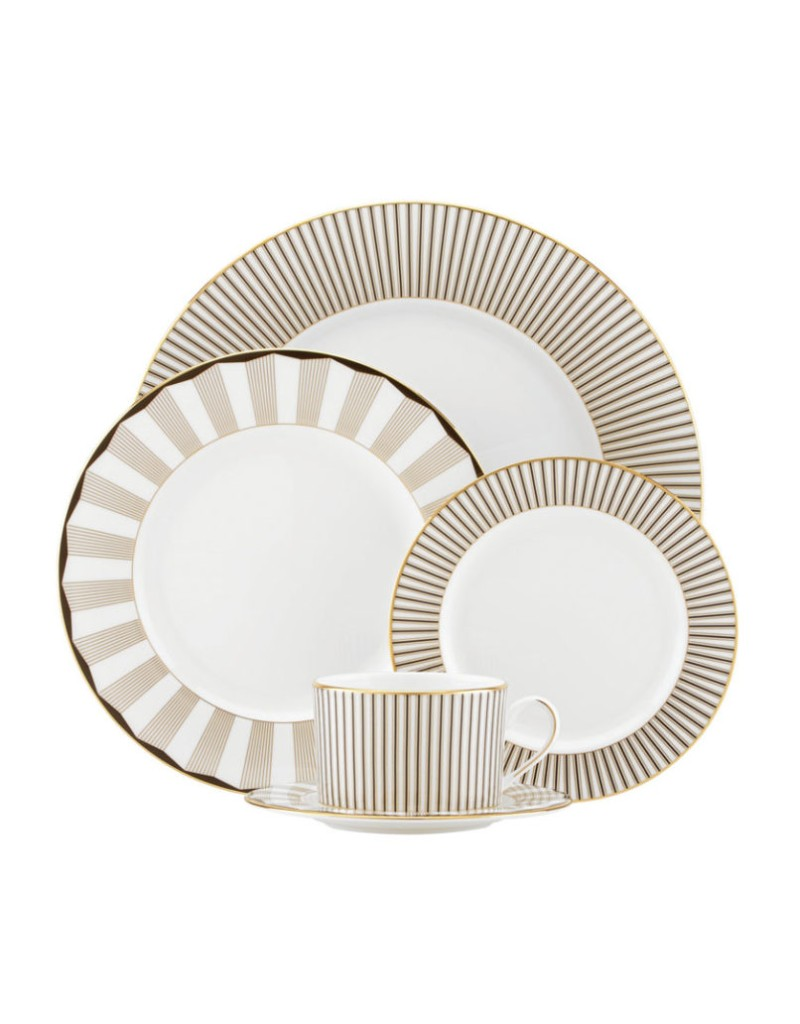 dinner set Luxury Dinner Sets For Your Modern Dining Table Lenox Brian Gluckstein Audrey