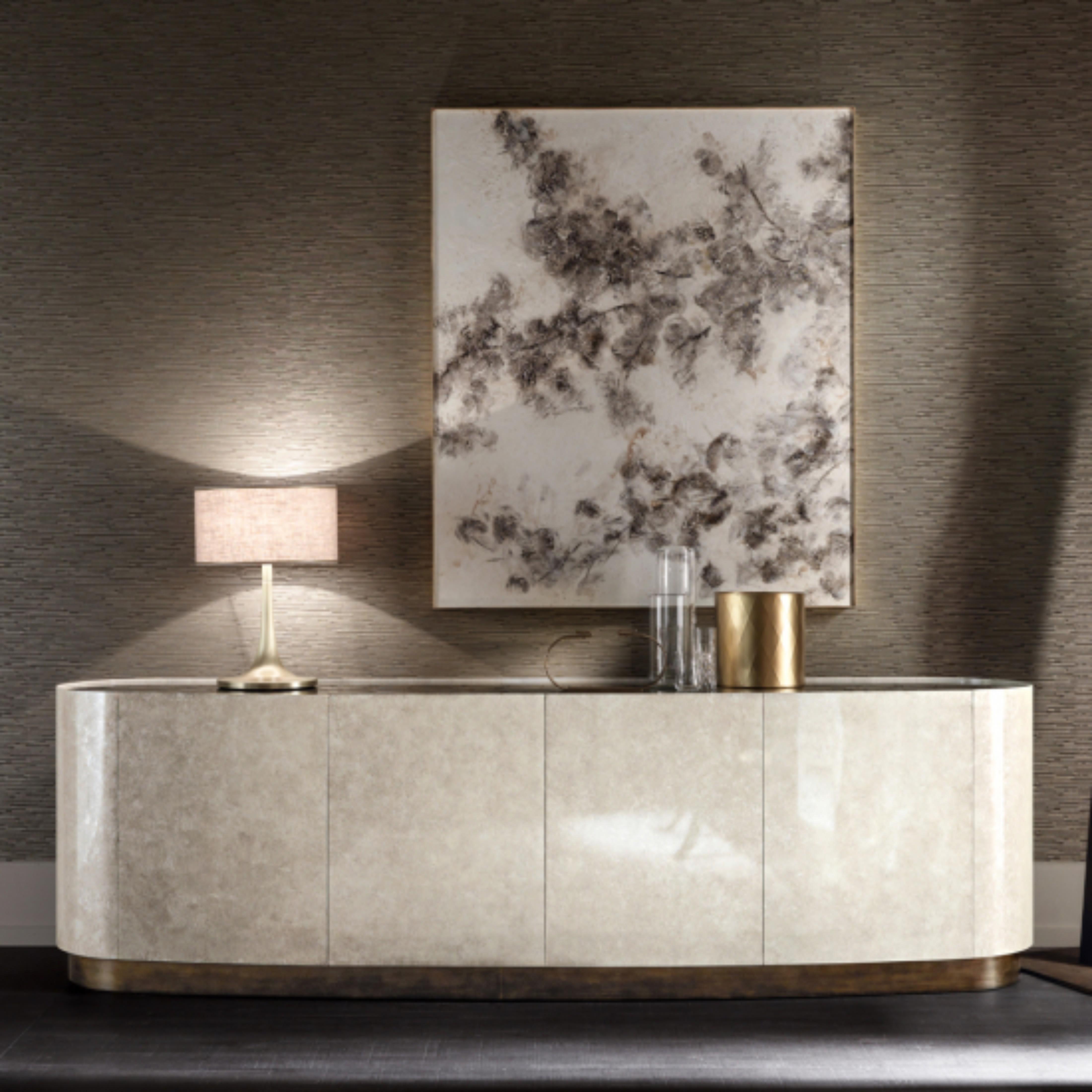 dining room decor ideas 5 Astonishing Dining Room Decor Ideas Luxury Italian Designer Seashell Buffet 1 550x550