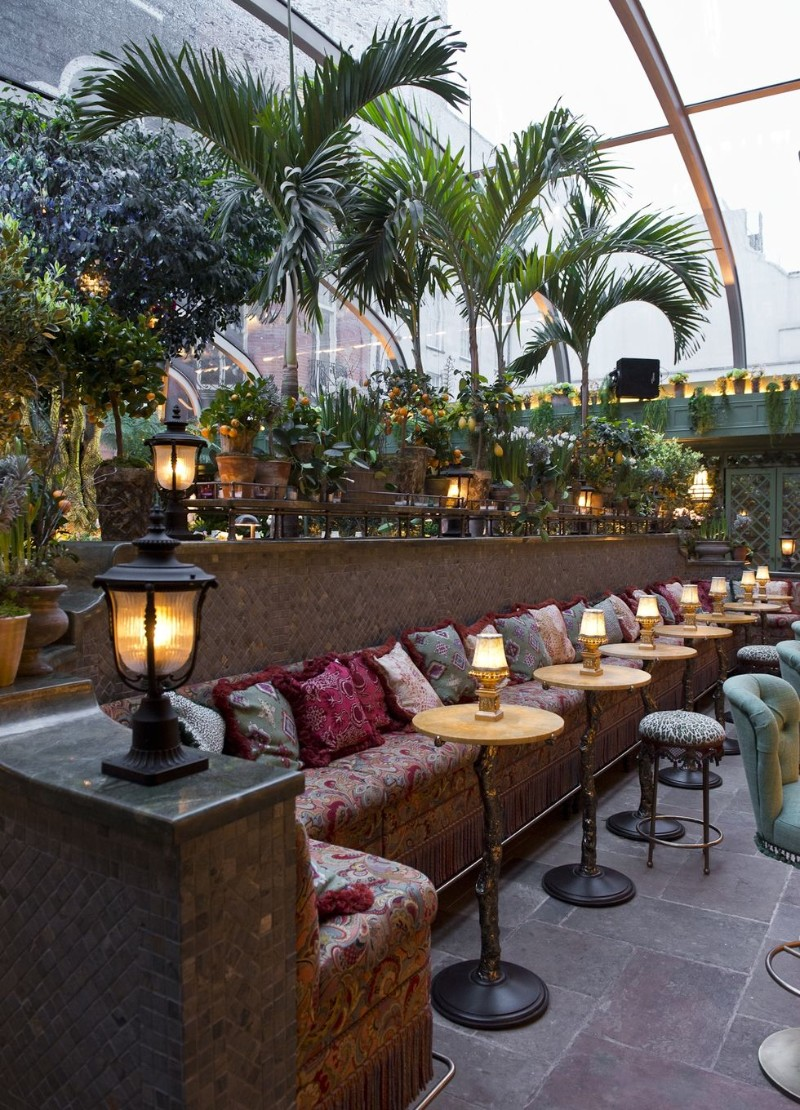 first-class Annabel's Provides A First-Class Dining Experience The Garden