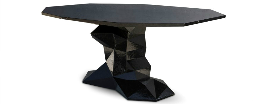 dining table How To Choose The Perfect Dining Table For Your Space bonsai black boca do lobo