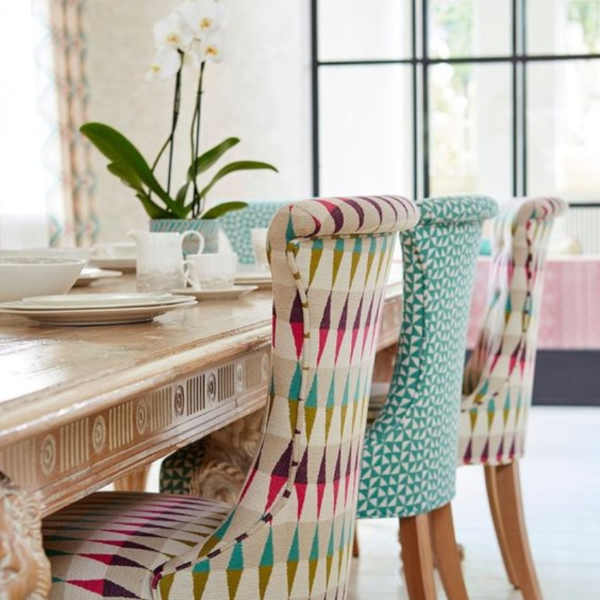 dining chairs 5 Tips For Elegantly Utilizing Your Dining Chairs different fabrics 1