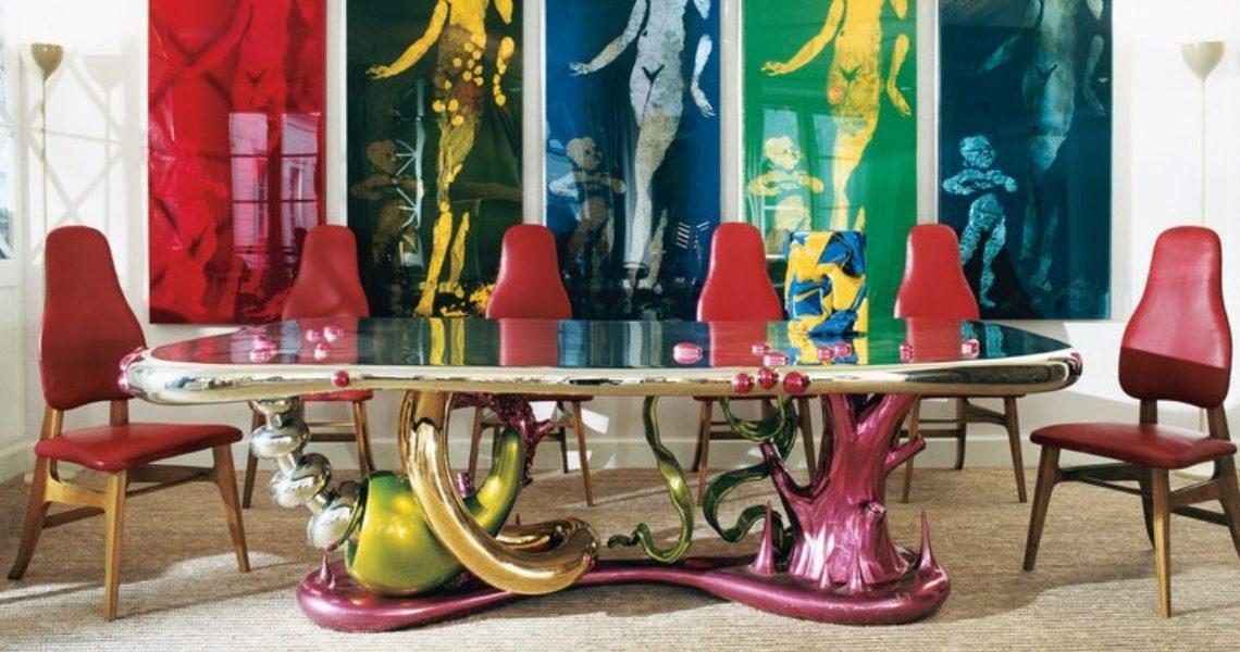 Unraveling Mattia Bonetti's 'Abyss' Dining Table