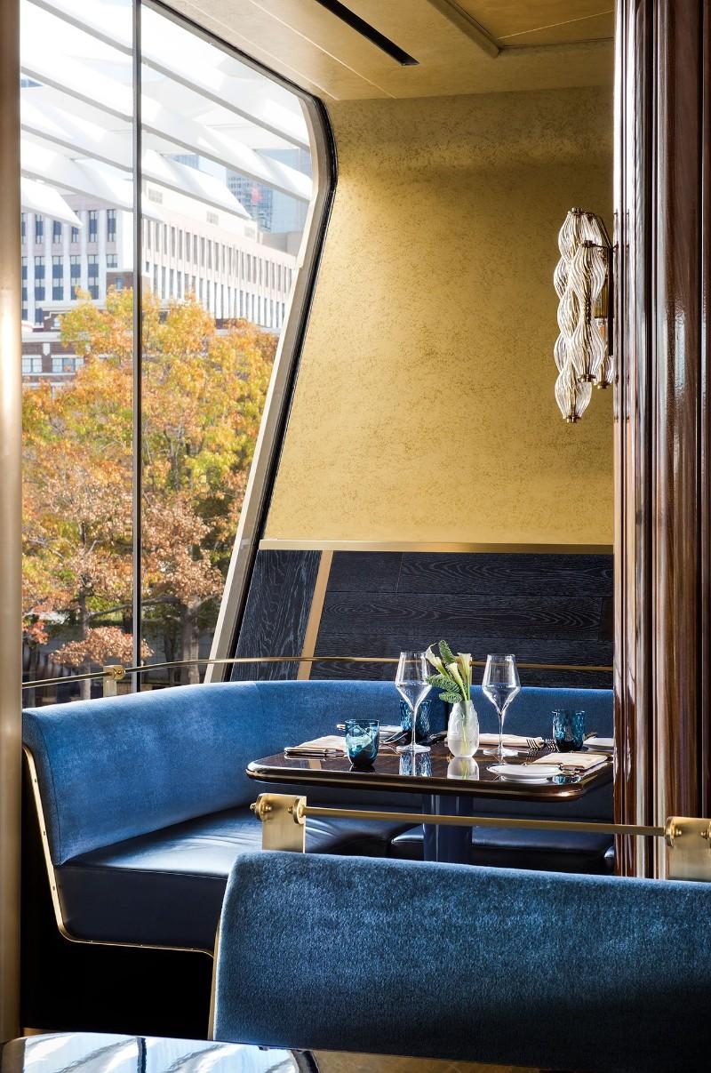 fine dining fine dining Martin Brudnizki's Golden Fine Dining Treasure Bullion Restaurant 3