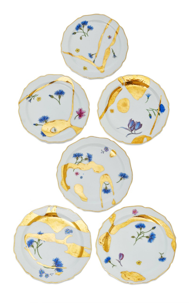 moda operandi Moda Operandi's Exclusively Colorful Tableware DeGournay
