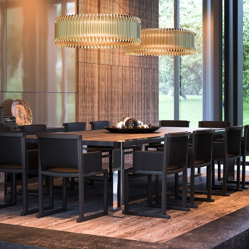 Design Trends: The Use Of Natural Materials In Dining Tables design trends Design Trends: The Use Of Natural Materials In Dining Tables Design Trends 5