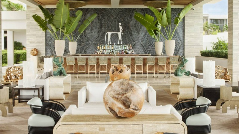 Kelly Wearstler Kelly Wearstler's Most Iconic Dining Room Projects Four Seasons Anguilla