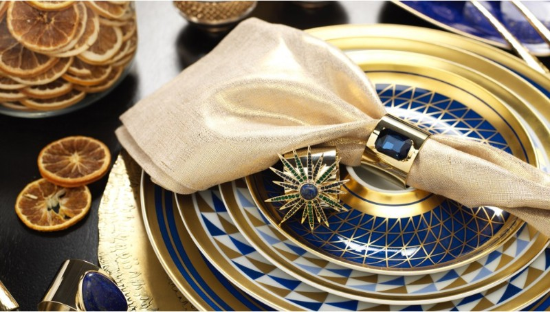 dining table Adorn Your Dining Table with These Luxury Napkin Rings Joanna Buchanan 1