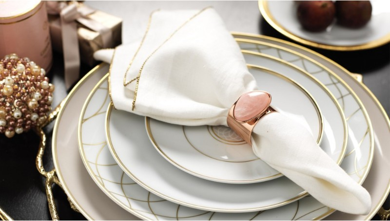 dining table Adorn Your Dining Table with These Luxury Napkin Rings Joanna Buchanan 2