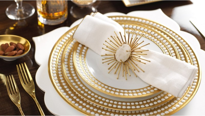 dining table Adorn Your Dining Table with These Luxury Napkin Rings Kim Seybert 3