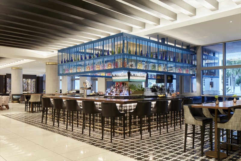 design projects Simeone Deary's Astonishing Dining Room Design Projects Loews Miami Beach Hotel