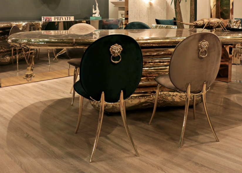 luxury dining chairs Luxury Dining Chairs That Will Become A Must For Your Dining Room Soleil 2
