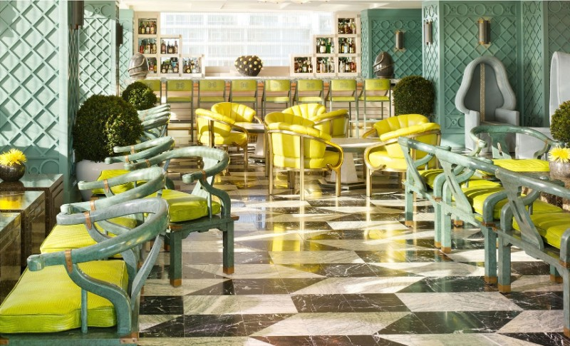 Kelly Wearstler Kelly Wearstler's Most Iconic Dining Room Projects Viceroy Miami