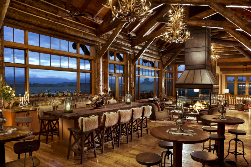 design projects Simeone Deary's Astonishing Dining Room Design Projects brush creek ranch